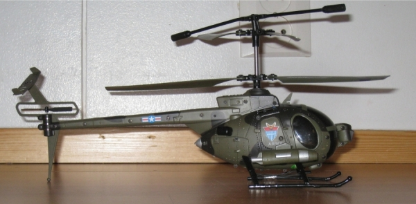 Miniature Camera Gunship